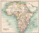 Africa. Congo State. British/German East Africa. Cape Colony, 1904 antique map